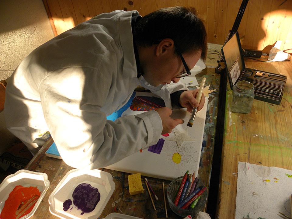 Cours de peinture enfant nantes