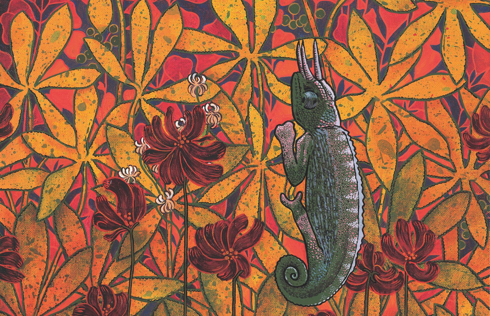 Le cornu, Anne Kervarec artiste peintre Nantes